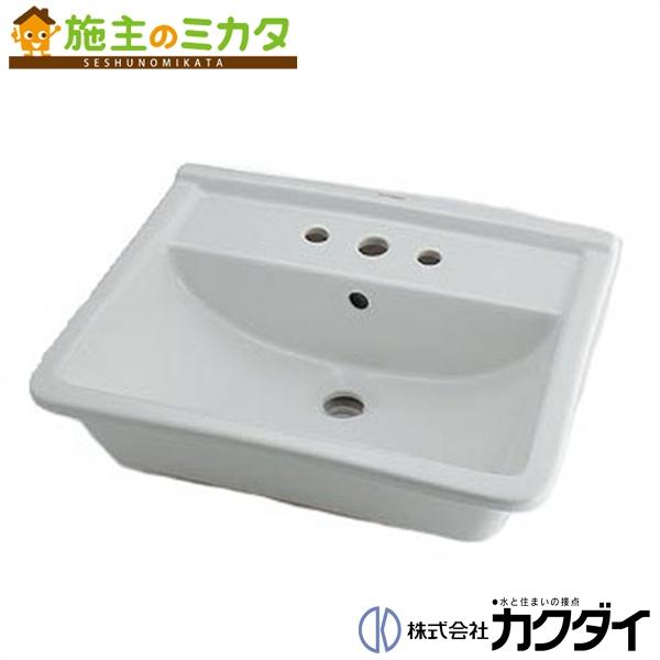 カクダイ 【#DU-0302560030】 KAKUDAI 角型洗面器//3ホール★