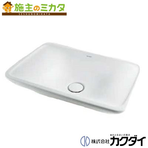 カクダイ 【#DU-0369700000】 KAKUDAI 角型洗面器 ★
