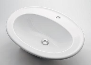 カクダイ 【#DU-0472620000】 KAKUDAI 丸型洗面器//1ホール ★