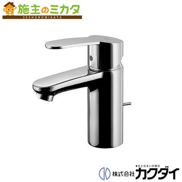 カクダイ 【#GR-32358002】 KAKUDAI シングルレバー混合栓 混合水栓 蛇口 ★