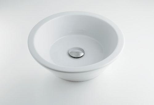 カクダイ 【#LY-493204】 KAKUDAI 丸型洗面器 ★