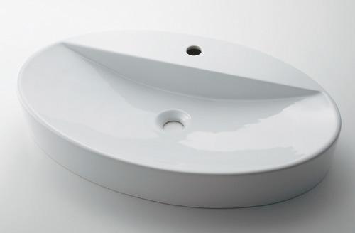 カクダイ 【#LY-493208】 KAKUDAI 丸型洗面器 ★
