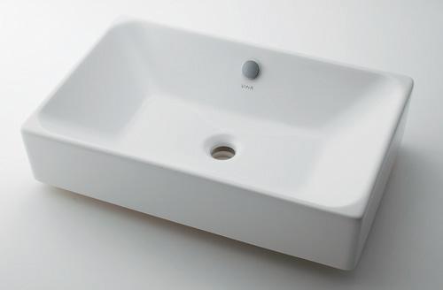 カクダイ 【#VR-4434B0030012】 KAKUDAI 角型洗面器 ★