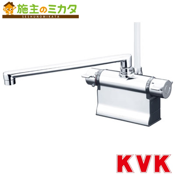 KVK 【KF3011TR3】 デッキ形サーモスタット式シャワー 300mmパイプ仕様