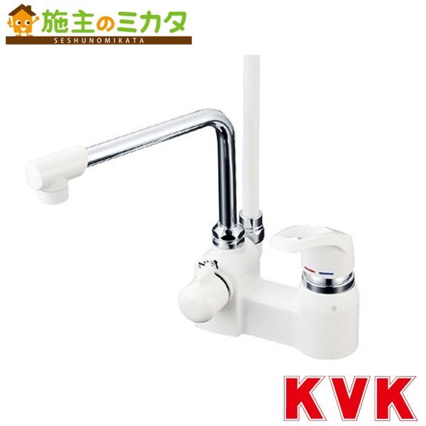 KVK 【KF6004R24】 デッキ形シングルレバー式シャワー 240mmパイプ付