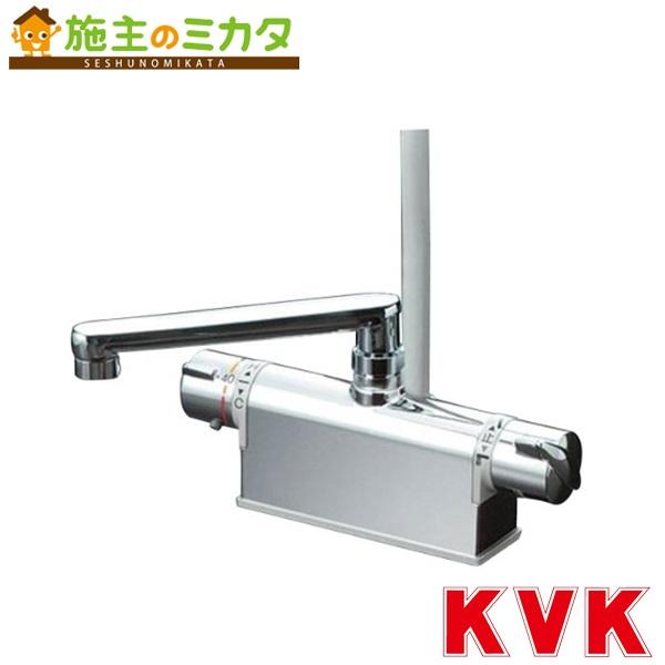 KVK 【KF771T】 デッキ形サーモスタット式シャワー 取付ピッチ100mm