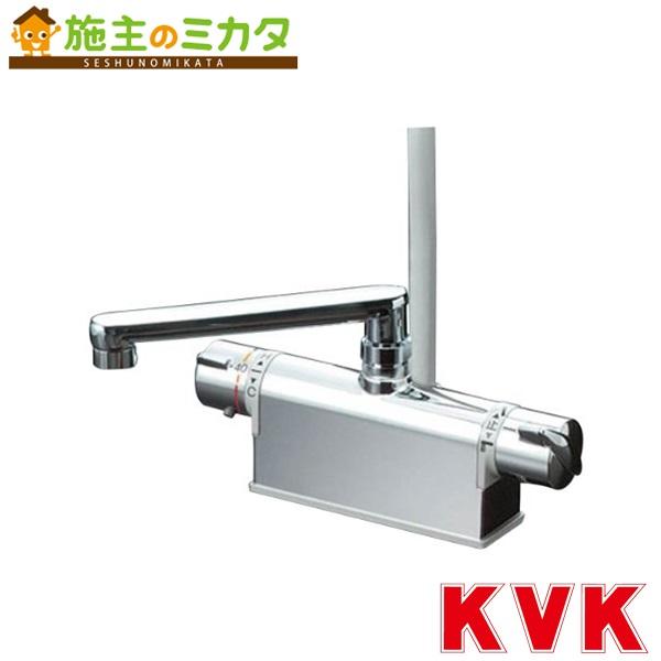 KVK 【KF771YT】 デッキ形サーモスタット式シャワー 取付ピッチ120mm