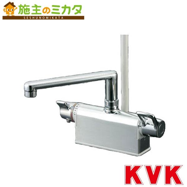 KVK 【KF781T】 デッキ形サーモスタット式シャワー 取付ピッチ100mm