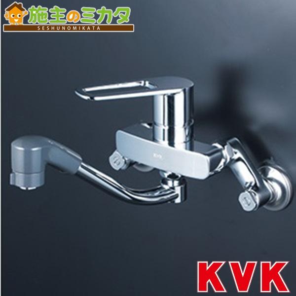 KVK 【KM5000TF】 シングルレバー式シャワー付混合栓 混合水栓