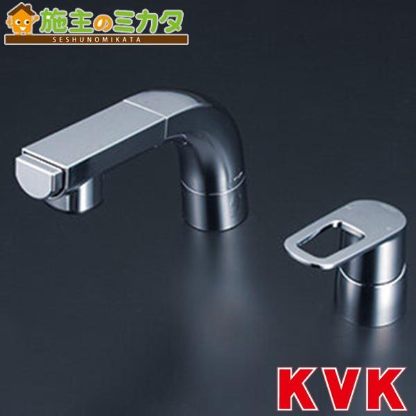 KVK 【KM5271TEC】 シングルレバー式洗髪シャワー eレバー