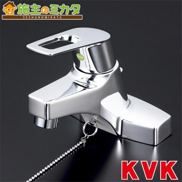 KVK 【KM7014TEC】 洗面用シングルレバー式混合栓 eレバー 混合水栓