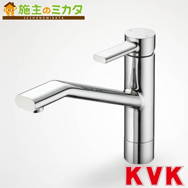 KVK 【KM906】 流し台用シングルレバー式混合栓 混合水栓