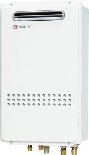 ノーリツ ガスふろ給湯器 【GT-2435SAWX-KB BL】 壁組み込み設置形 オート 集合アパート向け 24号 ★