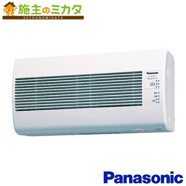 パナソニック 気調・熱交換形換気扇 【FY-16ZGQ1-W】 壁掛形 1パイプ式 汚れセンサー自動運転形 電気式シャッター ★
