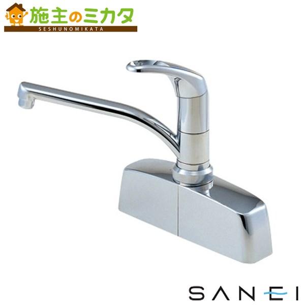 三栄水栓 【CK676-2-13】 シングル取替用台付混合栓 混合水栓 ★