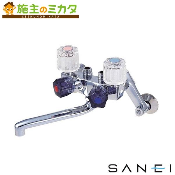 三栄水栓 【K161-13】 ソーラ4バルブ混合栓 混合水栓 ★