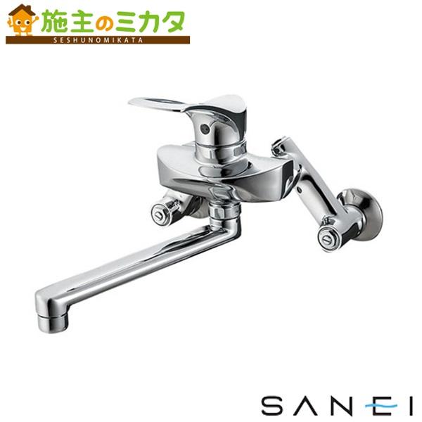 三栄水栓 【K1712-3U-13】 シングル混合栓 混合水栓 ★