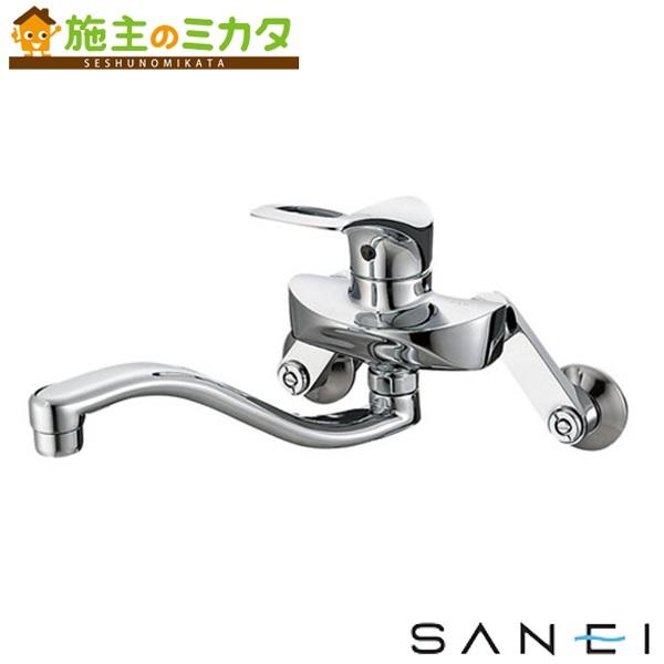三栄水栓 【K1712A-13】 シングル混合栓 混合水栓 ★