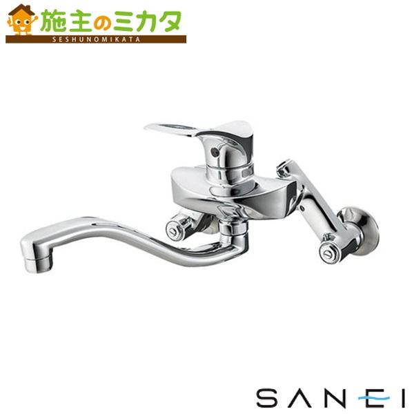 三栄水栓 【K1712A-3U-13】 シングル混合栓 混合水栓 ★