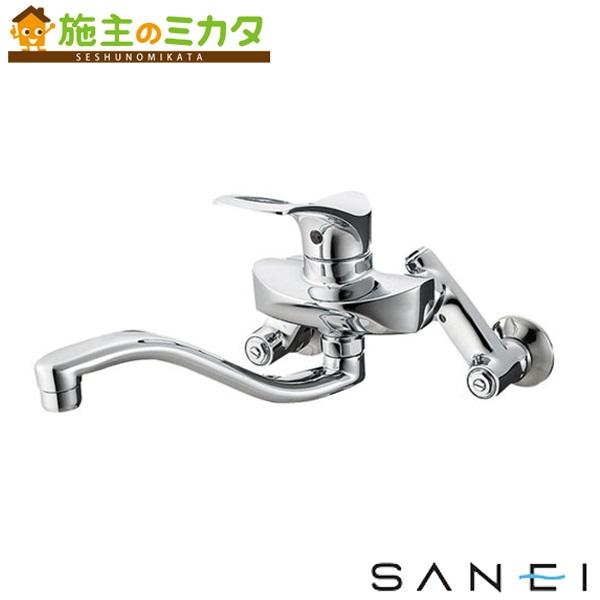 三栄水栓 【K1712AK-3U-13】 シングル混合栓 寒冷地用 混合水栓 ★