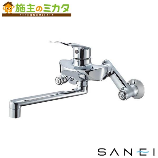 三栄水栓 【K1712E-3U-13】 シングル混合栓 混合水栓 ★