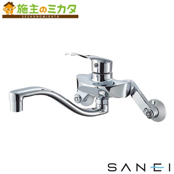 三栄水栓 【K1712EAK-13】 シングル混合栓 寒冷地用 混合水栓 ★