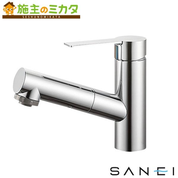 三栄水栓 【K37531JV-13】 シングルスプレー混合栓 洗髪用 混合水栓 ★
