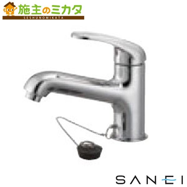 三栄水栓 【K4710K-13-23】 シングルワンホール洗面混合栓 寒冷地用 混合水栓 ★