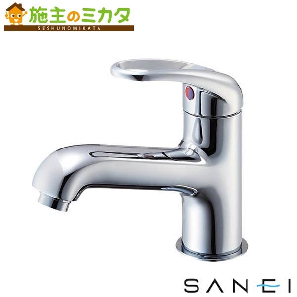 三栄水栓 【K4710NJK-13】 シングルワンホール洗面混合栓 寒冷地用 混合水栓 ★
