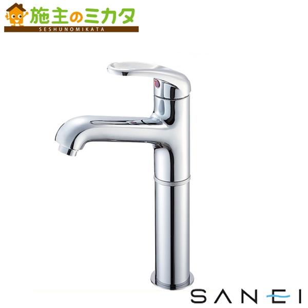 三栄水栓 【K4710NJK-2T-13】 シングルワンホール洗面混合栓 寒冷地用 混合水栓 ★