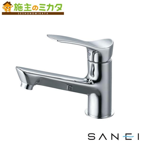三栄水栓 【K4712NJK-13】 シングルワンホール洗面混合栓 寒冷地用 混合水栓 ★