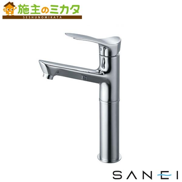 三栄水栓 【K4712NJK-2T-13】 シングルワンホール洗面混合栓 寒冷地用 混合水栓 ★
