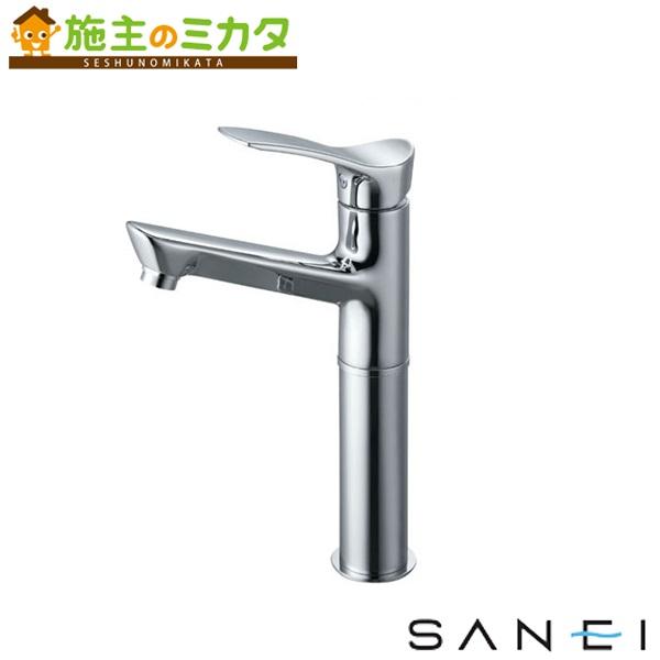 三栄水栓 【K4712NJV-2T-13】 シングルワンホール洗面混合栓 混合水栓 ★
