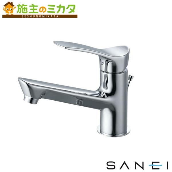 三栄水栓 【K4712PJV-13】 シングルワンホール洗面混合栓 混合水栓 ★