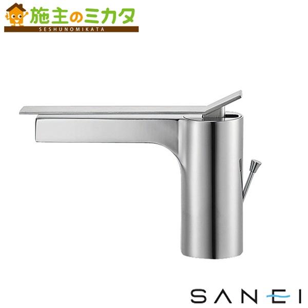 三栄水栓 【K4731PJV-13】 シングルワンホール洗面混合栓 混合水栓 ★