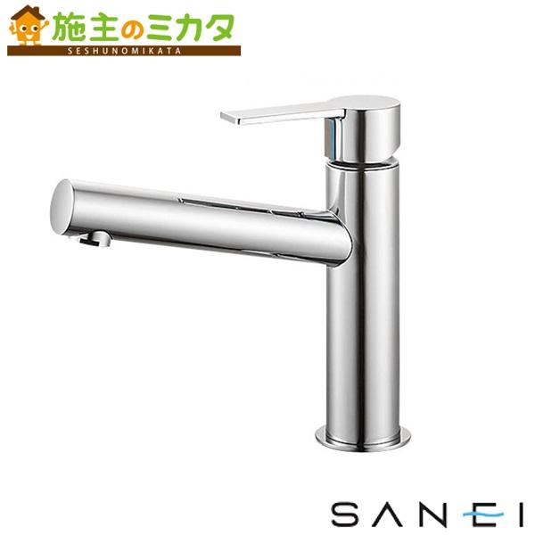 三栄水栓 【K4750NK-13】 シングルワンホール洗面混合栓 寒冷地用 混合水栓 ★