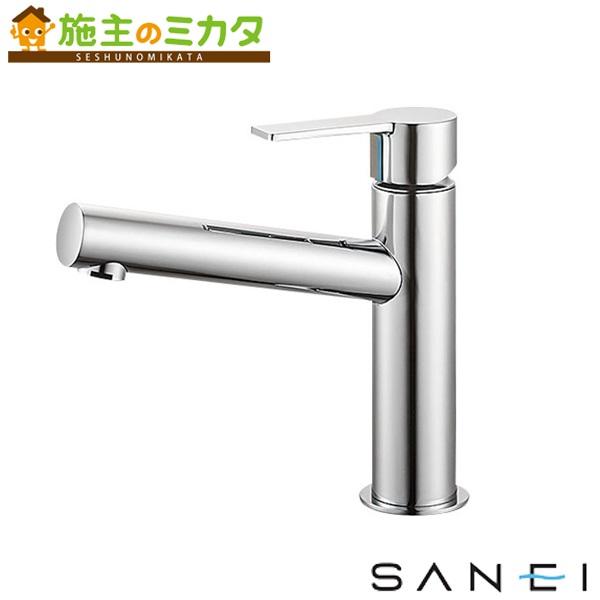 三栄水栓 【K4750NV-13】 シングルワンホール洗面混合栓 混合水栓 ★