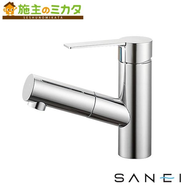 三栄水栓 【K47531JV-13】 シングルワンホール洗面混合栓 混合水栓 ★