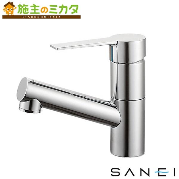 三栄水栓 【K475NJK-1-13】 シングルワンホール洗面混合栓 寒冷地用 混合水栓 ★
