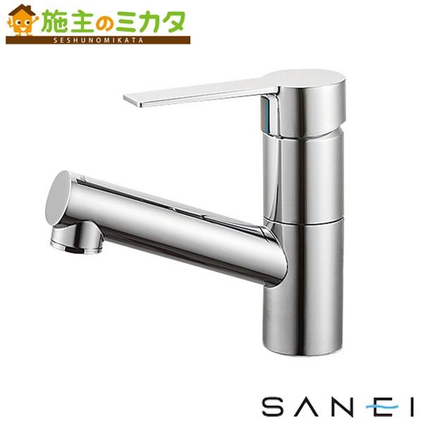 三栄水栓 【K475NJV-1-13】 シングルワンホール洗面混合栓 混合水栓 ★