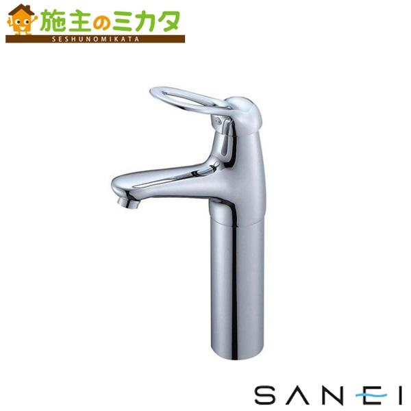 三栄水栓 【K4770NJK-2T-13】 シングルワンホール洗面混合栓 寒冷地用 混合水栓 ★