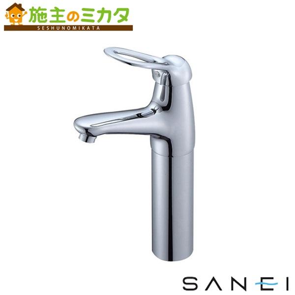 三栄水栓 【K4770NJV-2T-13】 シングルワンホール洗面混合栓 混合水栓 ★