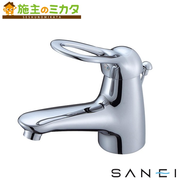 三栄水栓 【K4770PJV-13】 シングルワンホール洗面混合栓 混合水栓 ★