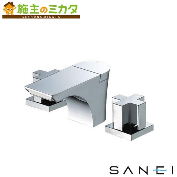 三栄水栓 【K5580PK-13】 ツーバルブ洗面混合栓 寒冷地用 混合水栓 ★