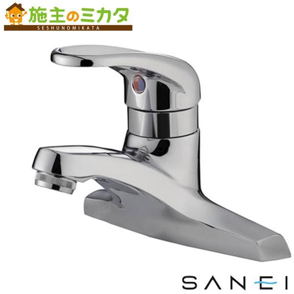 三栄水栓 【K57CNP-13】 シングル洗面混合栓 混合水栓 ★