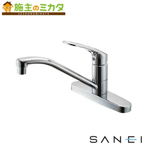 三栄水栓 【K676EK-13】 シングル台付混合栓 寒冷地用 混合水栓 ★