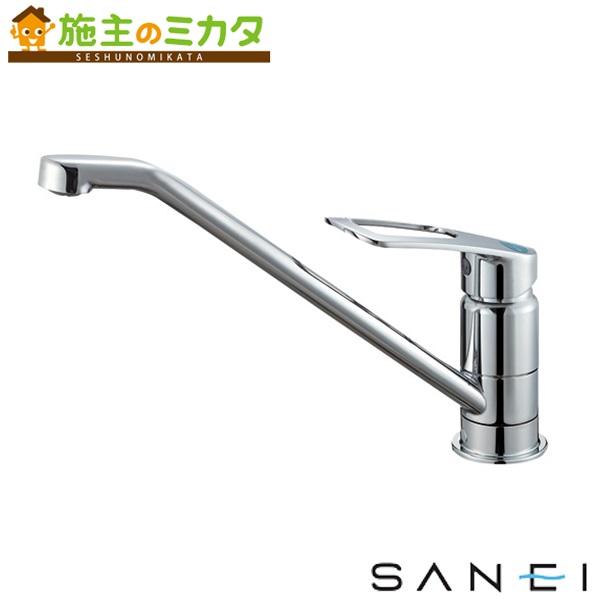 三栄水栓 【K87110ETJV-13】 シングルワンホール混合栓 混合水栓 ★
