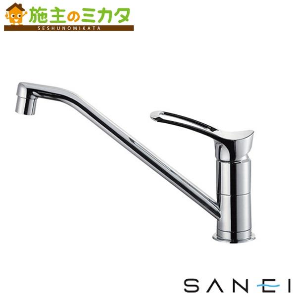 三栄水栓 【K8712JV-13】 シングルワンホール混合栓 混合水栓 ★