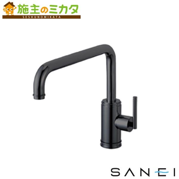 三栄水栓 【K87410JK-MDP-13】 シングルワンホール混合栓 混合水栓 ★