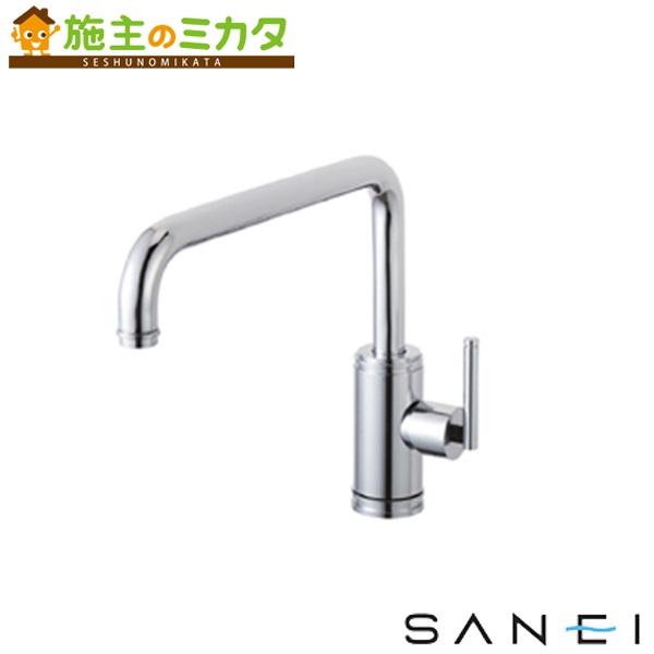 三栄水栓 【K87410JV-13】 シングルワンホール混合栓 混合水栓 ★